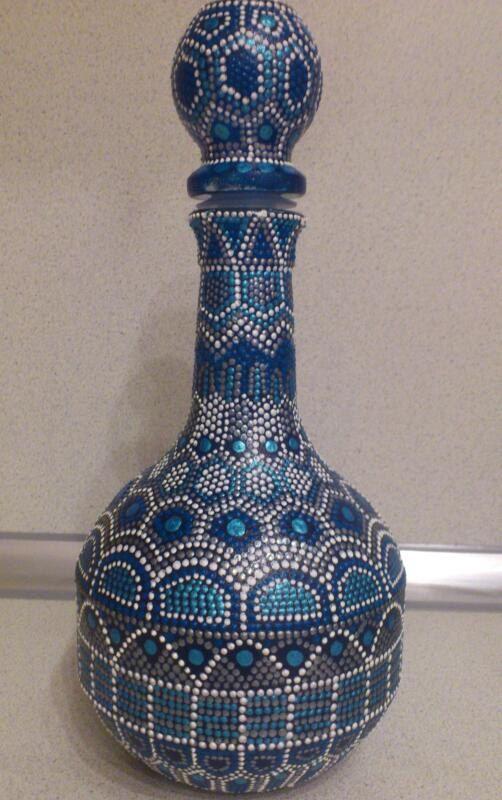"Items similar to Botella decorativa ""Mil y una noches"" on Etsy"