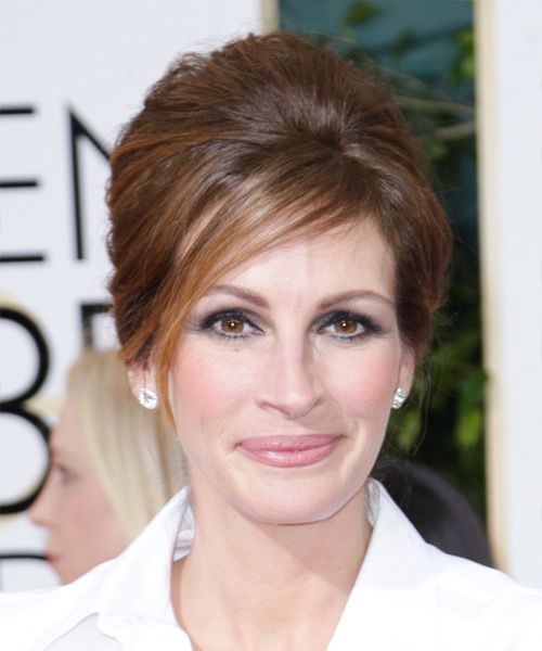 Julia Roberts Updo. Click on the image to try on this hairstyle!