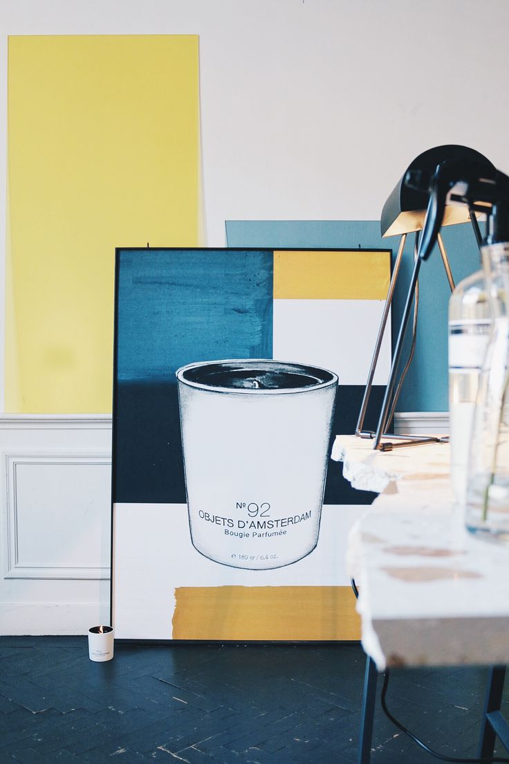 Marie-Stella-Maris Scented Candle No. 92 Objets d'Amsterdam Iconic, clean, fresh and woody