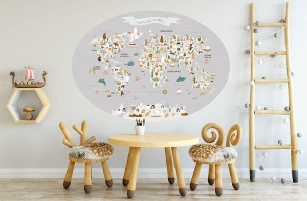 ¿Os acordáis de las láminas de mapamundi de Menudos Cuadros? Pues tenemos novedad, y tiene que ver con estos geniales mapas del mundo. Se trata de los vinilos de mapamundi de Menudos Cuadros. Ahora puedes instalar estos mapas repletos de pequeños detalles en las paredes, para que se queden ahí el tiempo que quieras. Es …