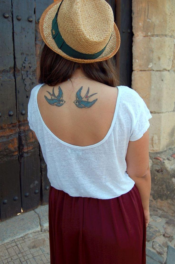 Tatuagem das andorinhas // Swallow tattoo