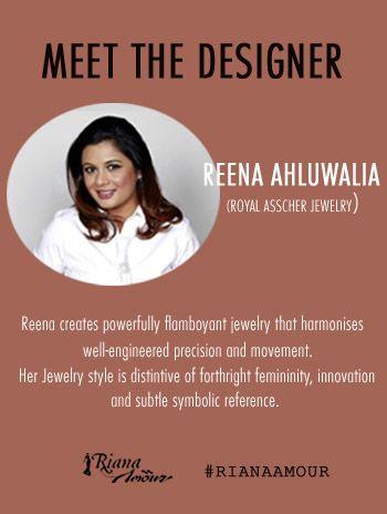 MEET THE DESIGNER...Royal Asscher Jewelry #RianaAmour