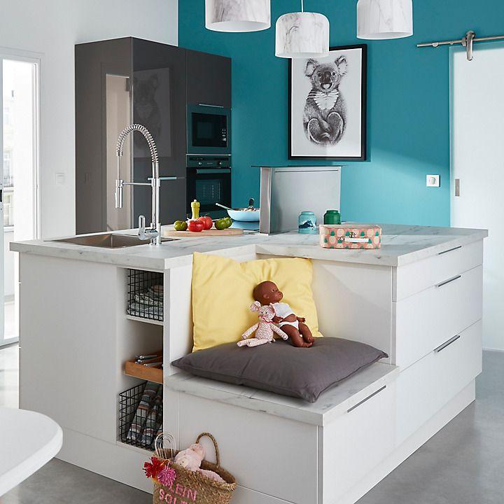 Les Meubles De Cuisine Cooke Lewis Artic Castorama Meuble Cuisine Mobilier De Salon Plan De Travail
