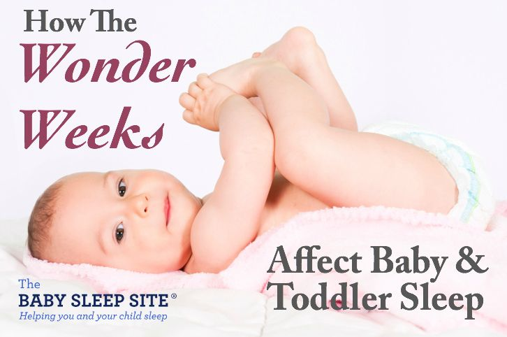 Here's how each of these wonder weeks stages impact a baby and toddler's naps and nighttime sleep.