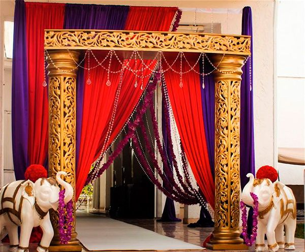 28 best decoraci n fiesta hind images on pinterest - Decoracion indu ...