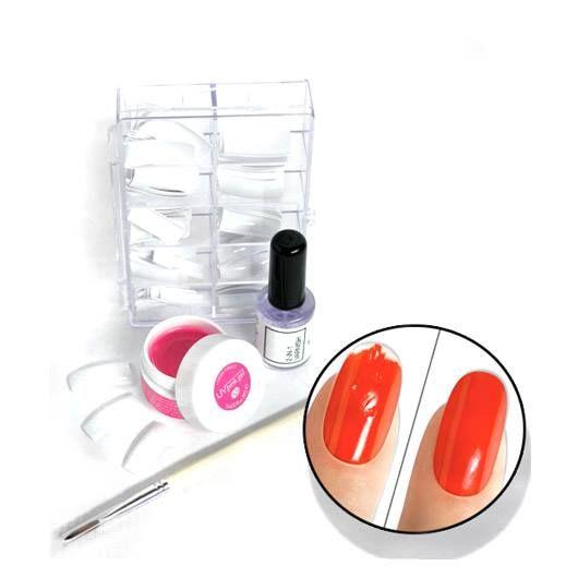 Har du redan en Rio UV gelé lampa och vill få en snygg nagelförlängning med en känsla av franskmanikyr, är detta något för dig. RIO Extensions French Manicure´s nagel-set kan användas tillsammans med alla Rios UV lampor (avsedda för gelé naglar)! http://www.hairmax.se/extensions-french-manicure-s-nagel-set