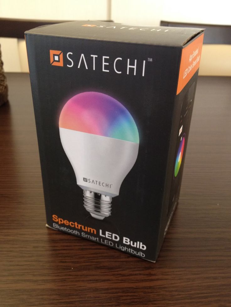 テクノロジー紹介 from Y.E.Y. 湘南: Satechi LED Bulb Spectrum IQ レインボースマート