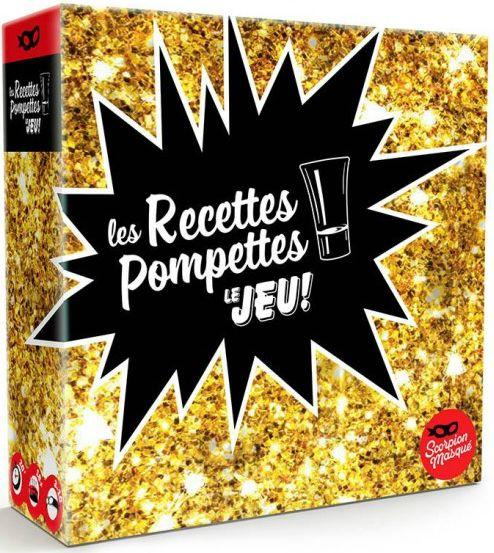 Les Recettes Pompettes – Le jeu!