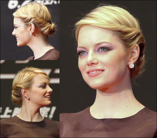 Cute and simple wedding hair for those of us with long hair