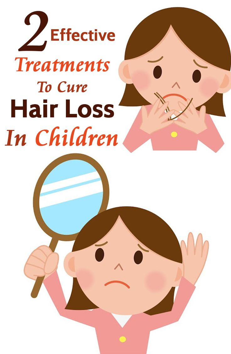 2 Effective Treatments To Cure Hair Loss In Children