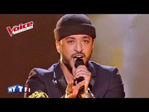The Voice 2016│Slimane - « Les Yeux de la Mama » (Kendji Girac)│Prime 2 - YouTube
