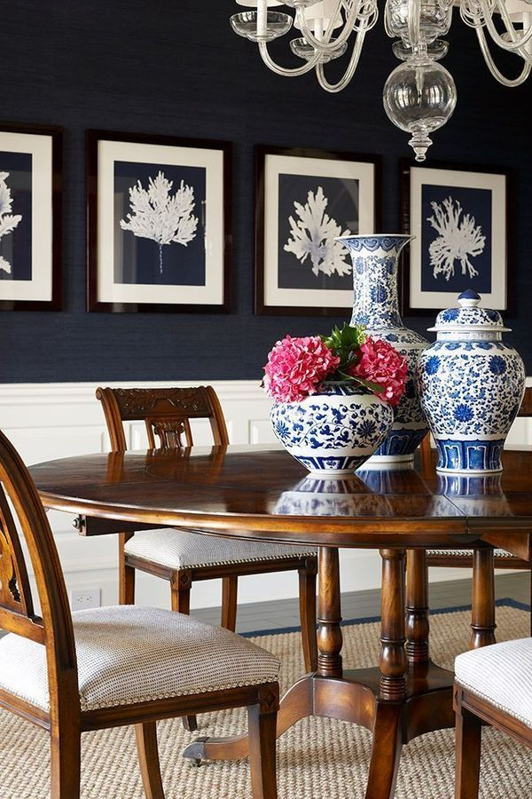 Table Dining Table Living Room Blue Furniture Interior Design