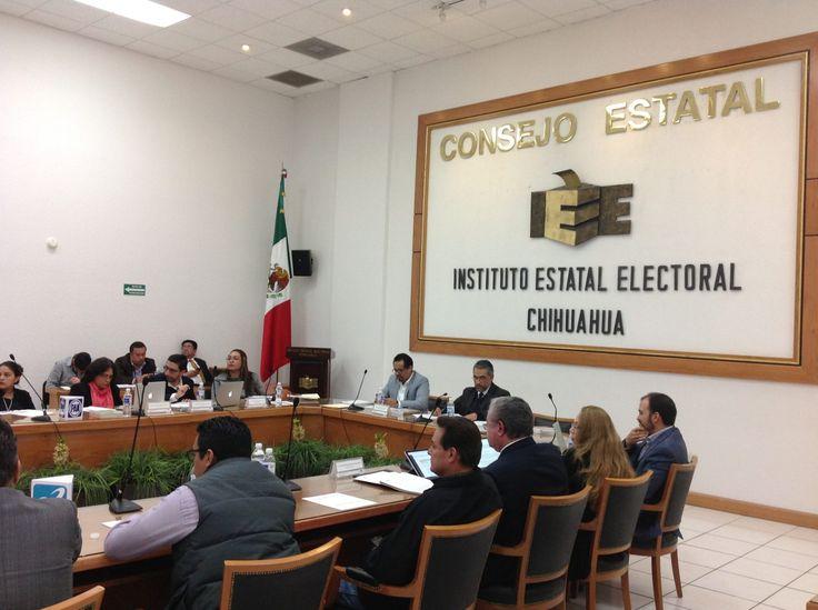 El Consejo Estatal Electoral del Instituto Estatal Electoral, durante su Primera Sesión Extraordinaria aprobó el ajuste al presupuesto de egresos para...