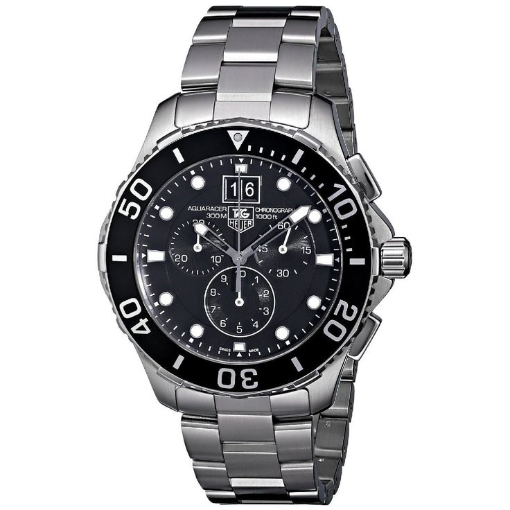 Tag Heuer Men's CAN1010.BA0821 'Aquaracer' Chronograph Watch
