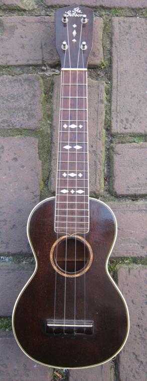 Gibson ukulele. Totally gorgeous.
