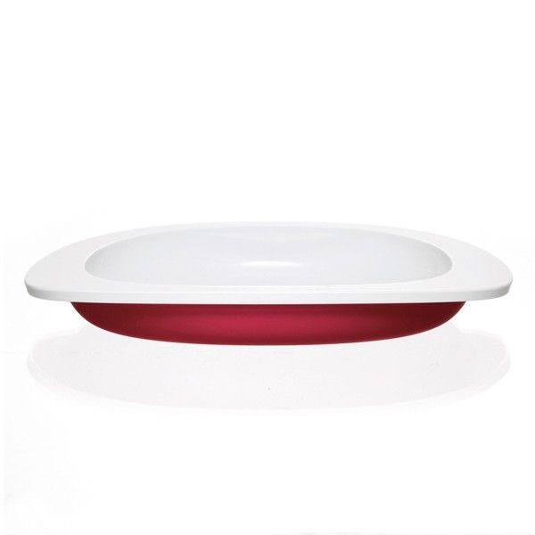 Toddler Copenhagen - Plate, red | €16 | ENIITO