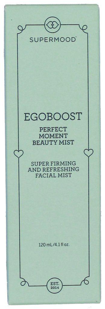 Supermood Egoboost Perfect Moment Beauty Mist on kosteuttava ja ihoa napakoittava kauneussuihke. Täydellinen tuote käsilaukkuun!
