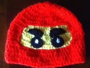 Free Lego Ninja hat pattern                                                                                                                                                                                 More
