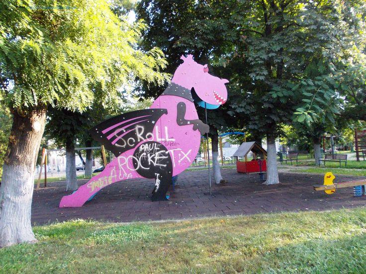 The playground near Filaret Station