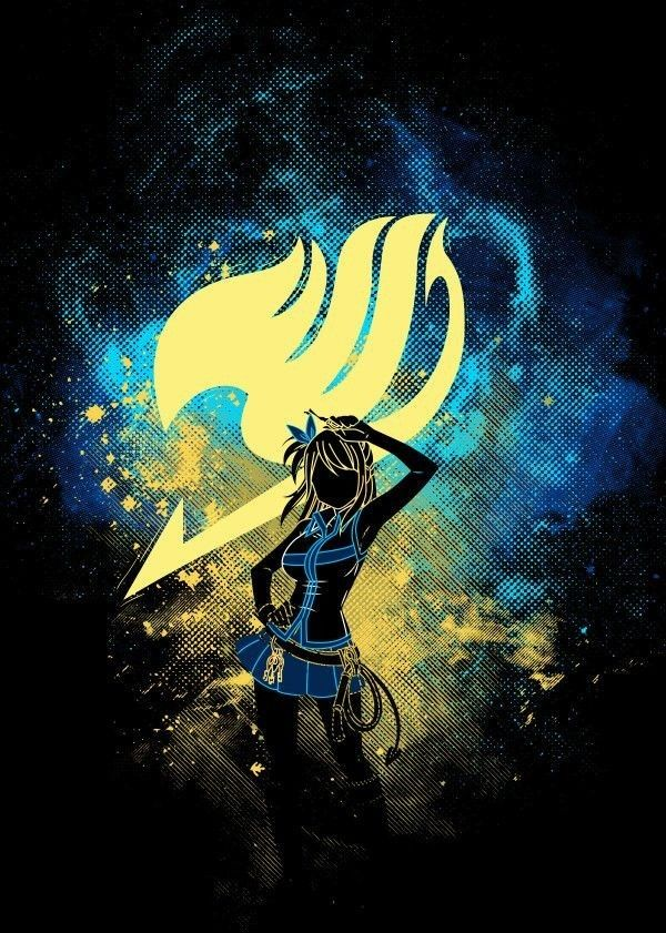 Fanart of Lucy from Fairy Tail | Fairy Tail | Fairy tail background