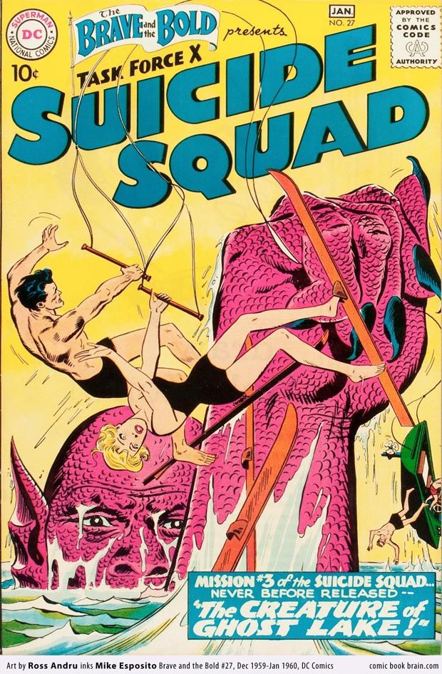 Brave and Bold Suicide Squad 1960 cover Brave and the Bold