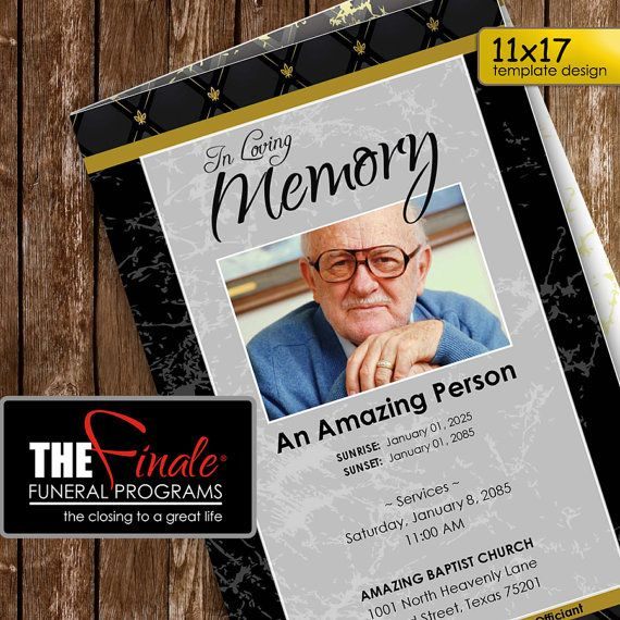 43 best Obituary Template images on Pinterest Free stencils - free obituary template