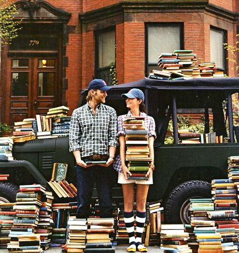 Find someone who loves books as much as you do -:
