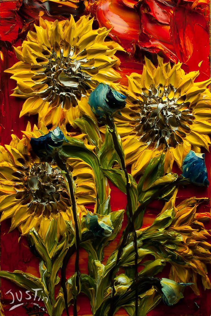 Justin Gaffrey   Made by Hand   Sunflowers