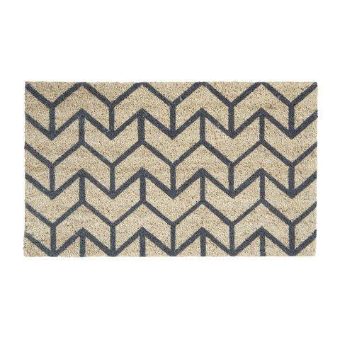 Arrow Doormat Slate - Milk & Sugar $49.95