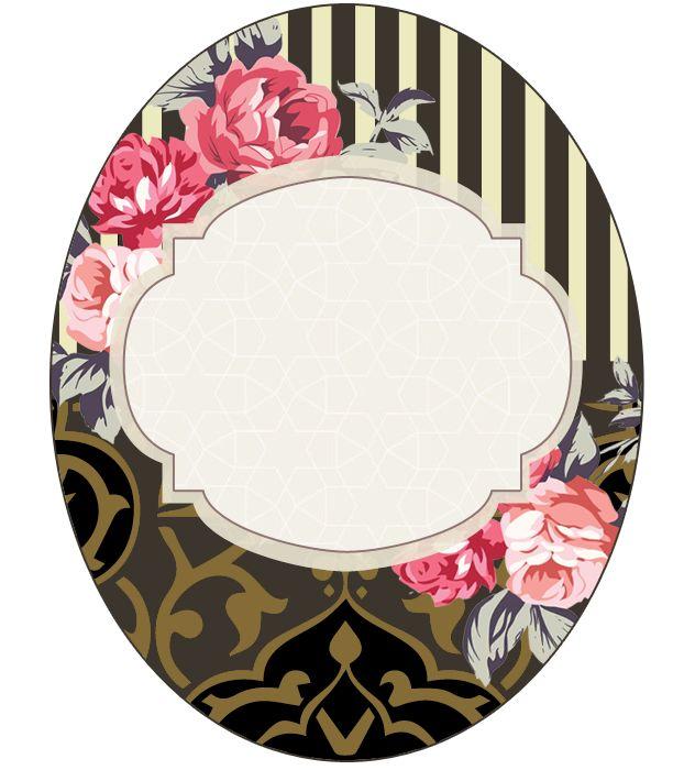 1414 Best Frames Floral Images On Pinterest