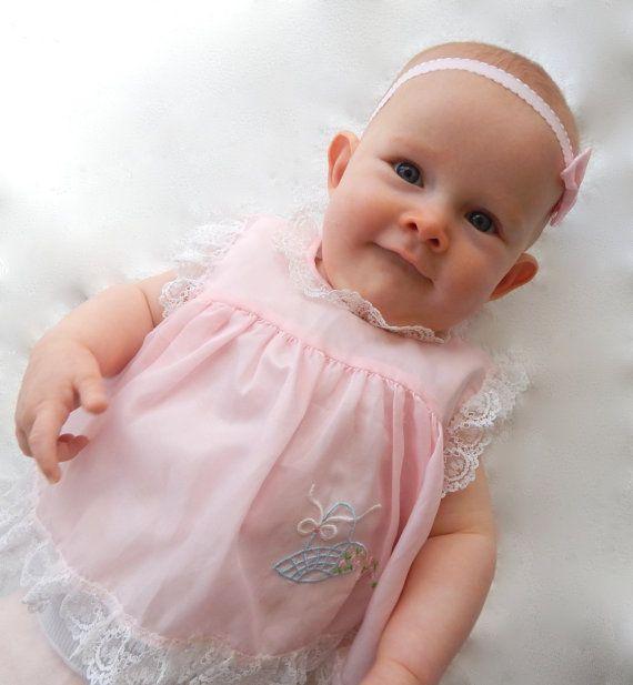 Original Vintage 1960's Baby doll baby top. by Sadies2nds on Etsy