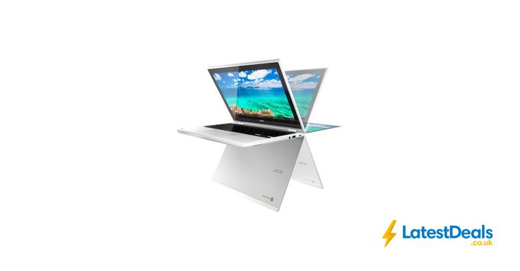 ACER Chromebook R 11 CB5-132T 2-in-1 Touchscreen - White Free Delivery, £199.99 at PC World