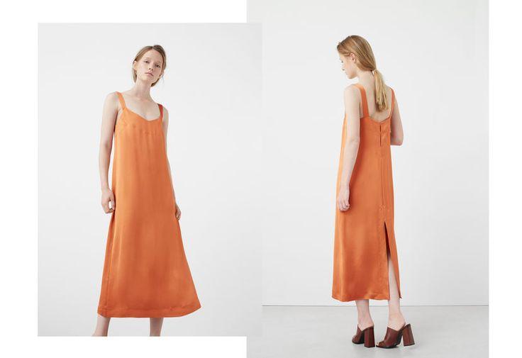 Stitched detail dress
