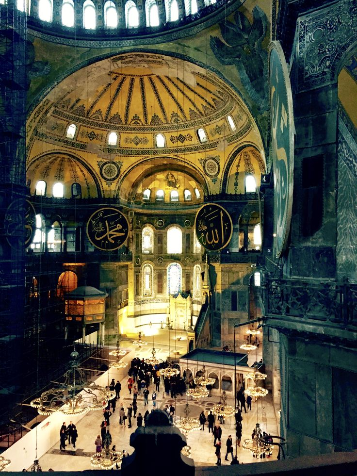 Pictured: The Hagia Sofia in Istanbul. Traveling Istanbul during a snowy winter definitely has its unexpected challenges. Check out this guide to visiting Istanbul in the winter on Passport & Plates! | http:/passportandplates.com