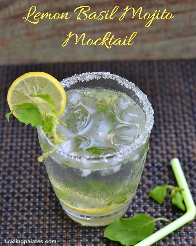 mojito mocktail @ themerrythought mocktail monday blueberry mojito the ...