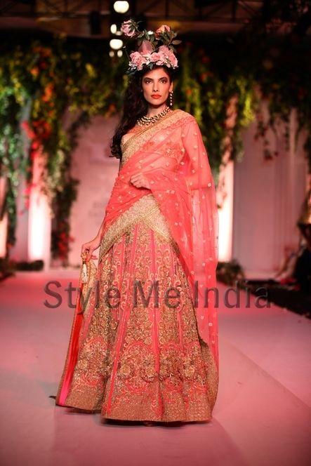 Falguni and Shane at India Bridal Fashion Week Delhi 2013