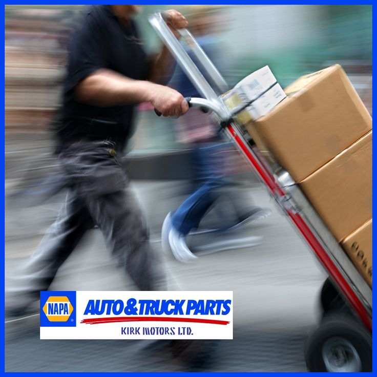 For a quick turnaround on parts for your vehicle call Napa