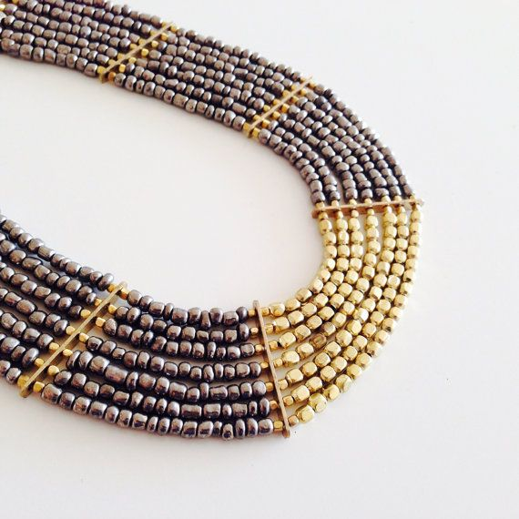matinee necklace/long necklace/Mothers day/chunky by sudarium, $22.00