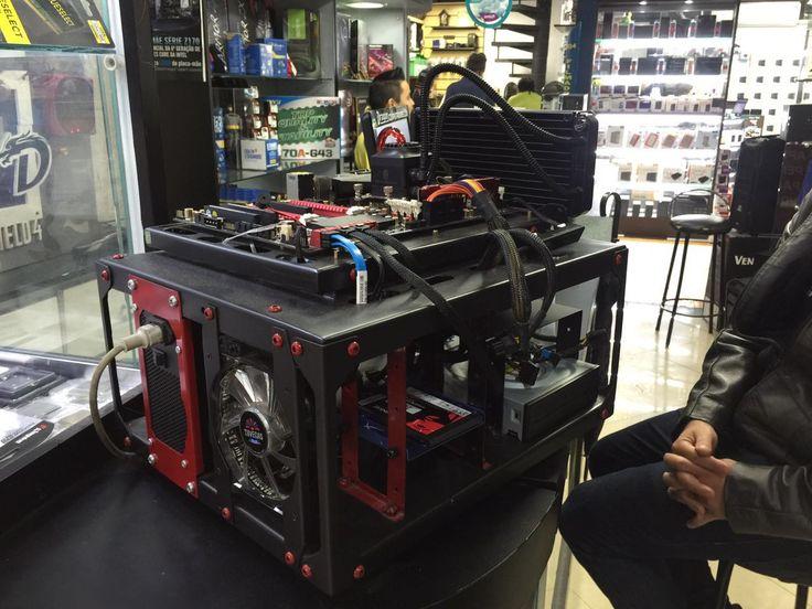 Projeto exclusivo Dragon Computadores #bancada