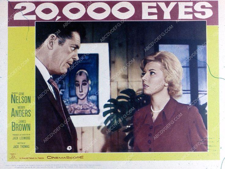 Gene Nelson Merry Anders film 20,000 Eyes 35m-1925