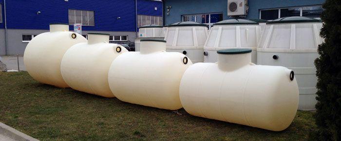 podzemné plastové nádrže TH
