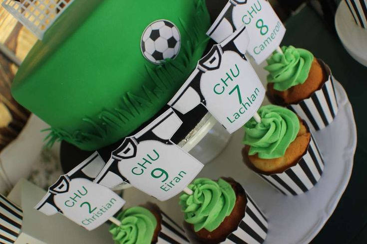 Soccer/Football Soccer/Football Party Party Ideas   Photo 4 of 13   Catch My Party