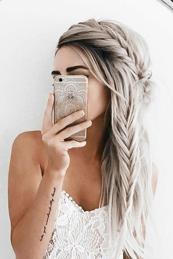 Long Down Hairstyles