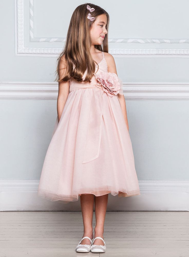 Lydia Blush Bridesmaid Dress - young bridesmaids - Wedding - BHS