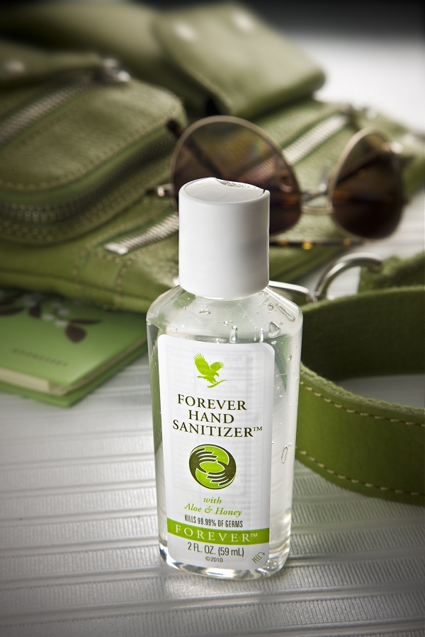 Keep safe with our portable size hand sanitizer, with Aloe & Honey!