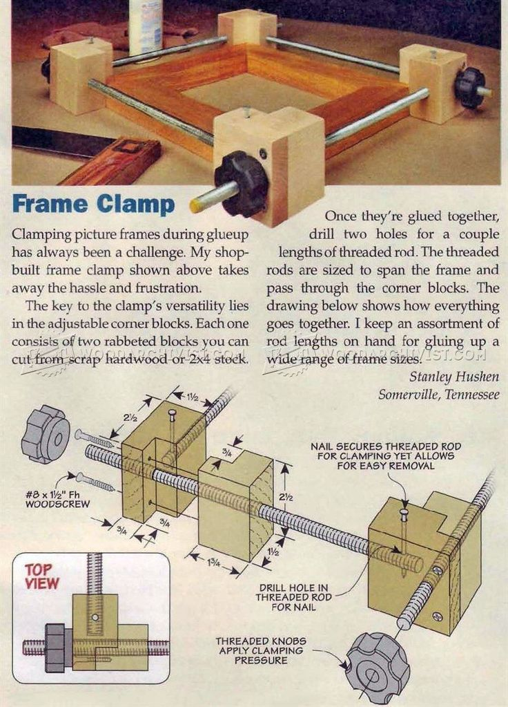 267 Best Diy Clamps Images On Pinterest Tools Clamp And