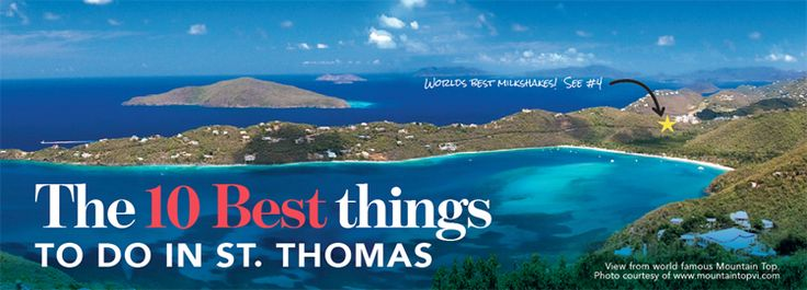 Top Attractions In Us Virgin Islands