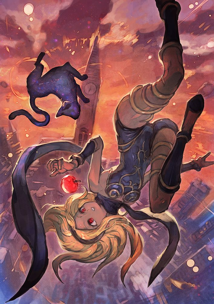 Gravity Rush - Kat and Dusty by lack
