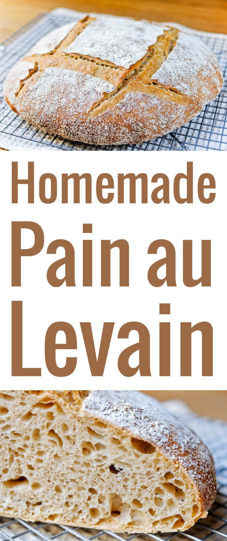 A super detailed, precise recipe to make a perfect French-style pain au levain…