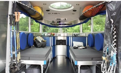 airstream basecamp interior trailers pinterest nissan airstream sport and vintage trailers